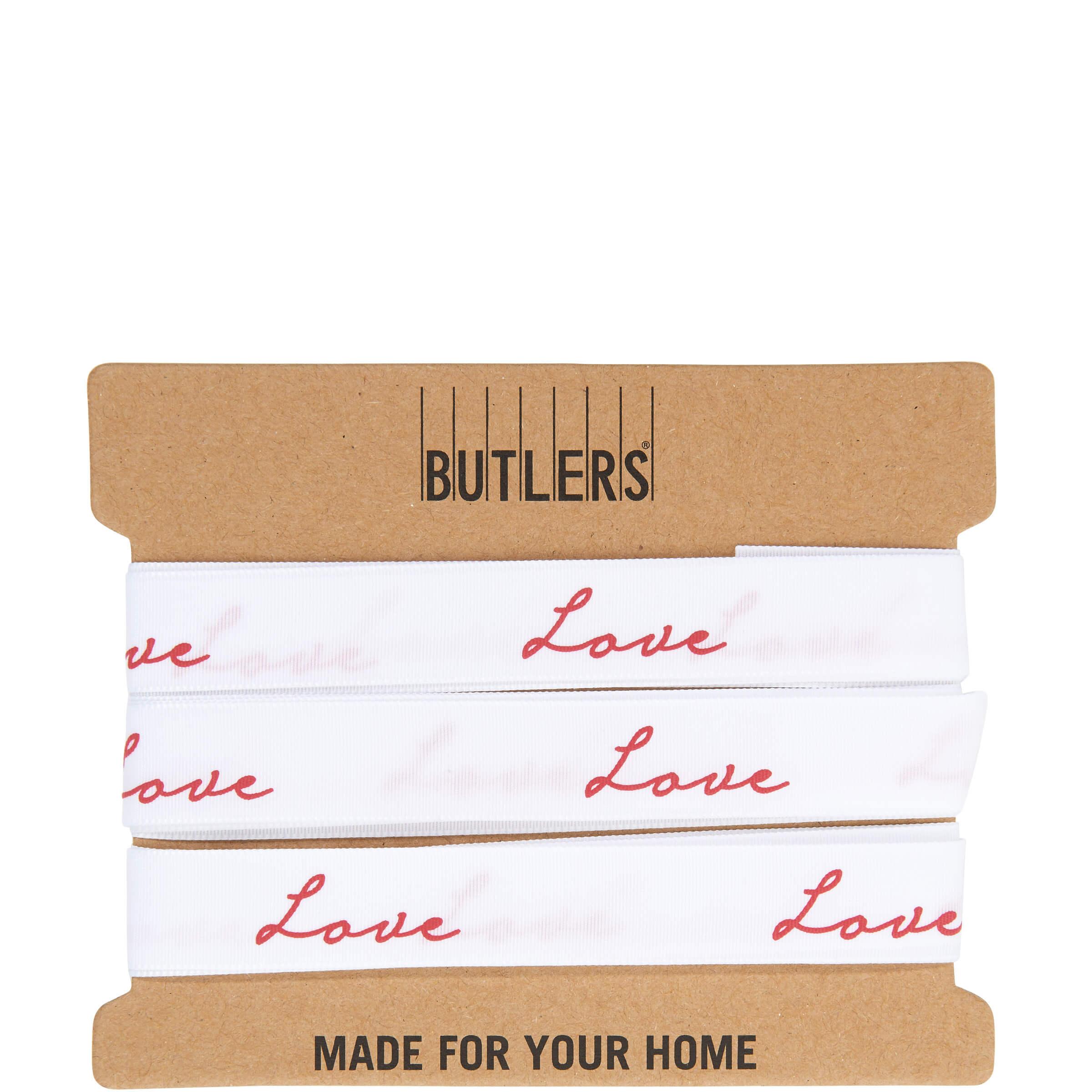 ribbon geschenkband love m bel24. Black Bedroom Furniture Sets. Home Design Ideas