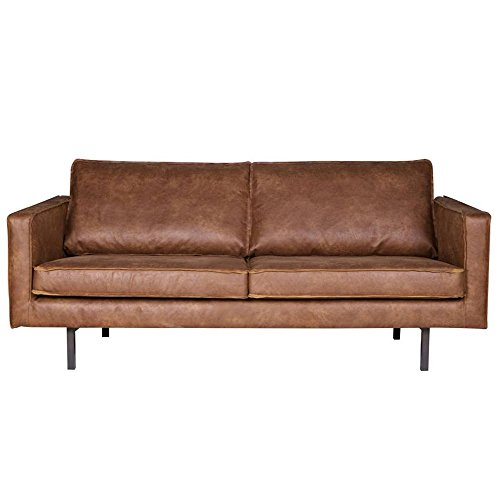 2 5 sitzer sofa rodeo echtleder leder lounge couch garnitur cognac m bel24. Black Bedroom Furniture Sets. Home Design Ideas