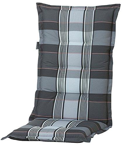 8 cm luxus hochlehner auflage a 055 grau anthrazit m bel24. Black Bedroom Furniture Sets. Home Design Ideas