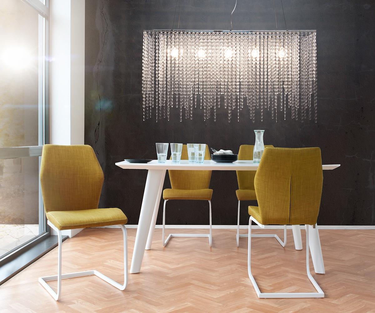 delife h ngeleuchte cybill 120 cm transparent h henverstellbar h ngeleuchten m bel24. Black Bedroom Furniture Sets. Home Design Ideas