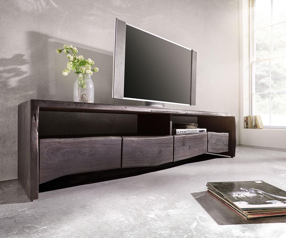9979 lowbaord live edge 190x45 akazie tabak schuebe m bel24. Black Bedroom Furniture Sets. Home Design Ideas