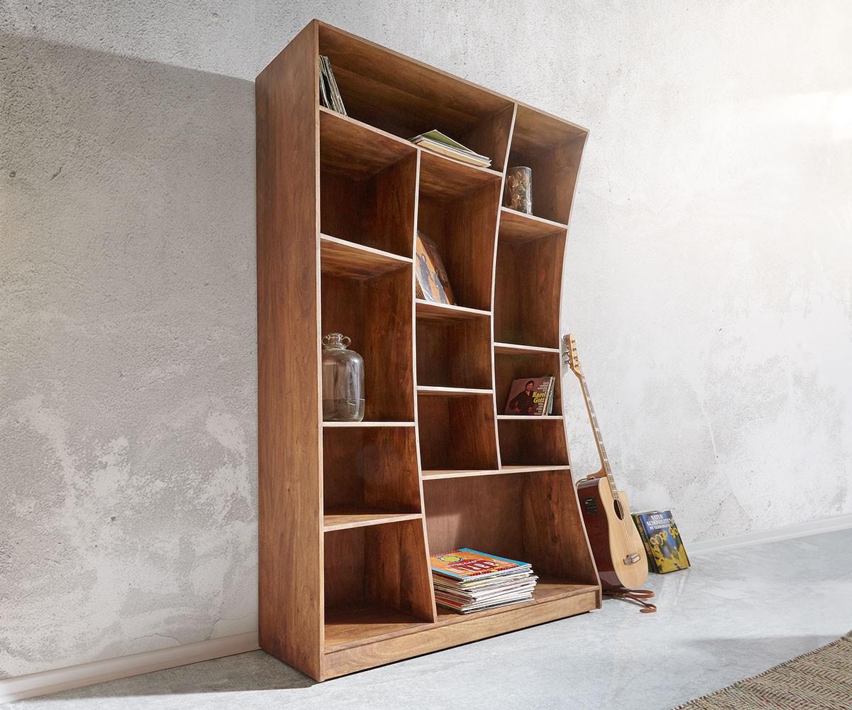 9990 standregal live edge 121x202 cm akazie braun li m bel24. Black Bedroom Furniture Sets. Home Design Ideas