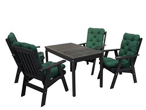 ambientehome 90538 gartengarnitur gartenset sitzgruppe verstellbarer hochlehner varberg taupe. Black Bedroom Furniture Sets. Home Design Ideas