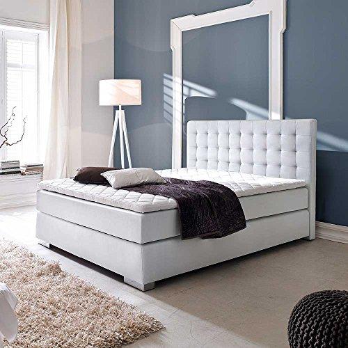 amerikanisches bett in wei matratze pharao24 m bel24. Black Bedroom Furniture Sets. Home Design Ideas