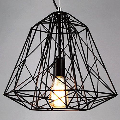 baycheer industrie pendellampe mit schirm metallgestell. Black Bedroom Furniture Sets. Home Design Ideas