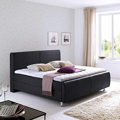 boxbett in schwarz topper pharao24 m bel24. Black Bedroom Furniture Sets. Home Design Ideas
