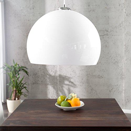 cag design h ngelampe globus weiss 40cm m bel24. Black Bedroom Furniture Sets. Home Design Ideas