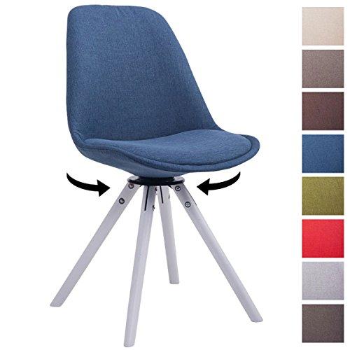 clp design retro stuhl troyes holzgestell wei rund. Black Bedroom Furniture Sets. Home Design Ideas