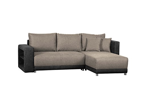 cavadore polsterecke l form mit federkern ecksofa m bel24. Black Bedroom Furniture Sets. Home Design Ideas