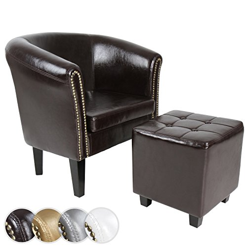 chesterfield sessel sitzhocker set lounge m bel farbwahl m bel24. Black Bedroom Furniture Sets. Home Design Ideas