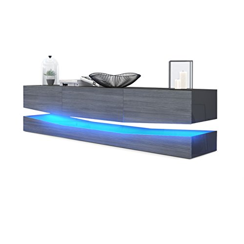 city tv board schwarz moebel24 online. Black Bedroom Furniture Sets. Home Design Ideas