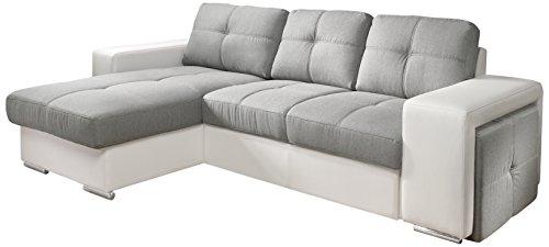 cotta c209661 c311 h350 polsterecke mit schlaffunktion und bettkasten 157 x 278 cm kunstleder. Black Bedroom Furniture Sets. Home Design Ideas