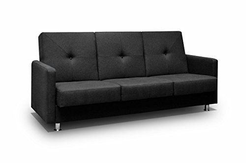 couch mit schlaffunktion sofa schlafsofa wohnzimmercouch bettsofa ausziehbar m bel24. Black Bedroom Furniture Sets. Home Design Ideas