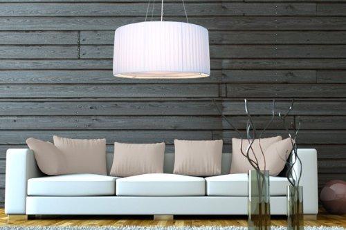 dunord design h ngelampe h ngeleuchte weiss 60 cm m bel24. Black Bedroom Furniture Sets. Home Design Ideas