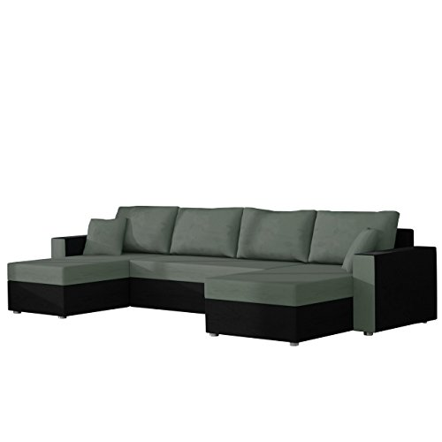 ecksofa mit schlaffunktion u form inspirierendes design f r wohnm bel. Black Bedroom Furniture Sets. Home Design Ideas