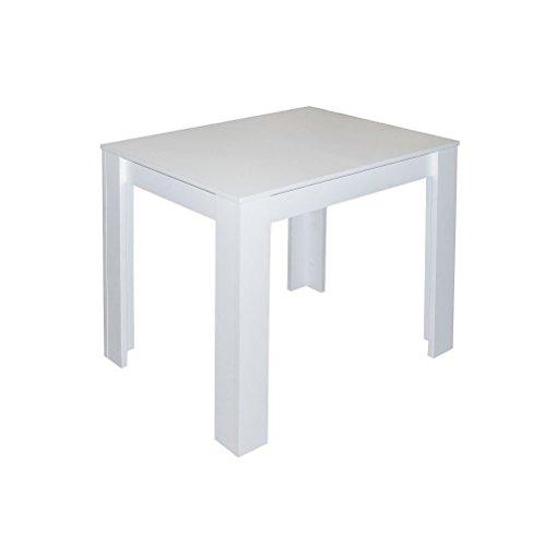 esstisch pit 0566 80x60 weiss matt m bel24. Black Bedroom Furniture Sets. Home Design Ideas