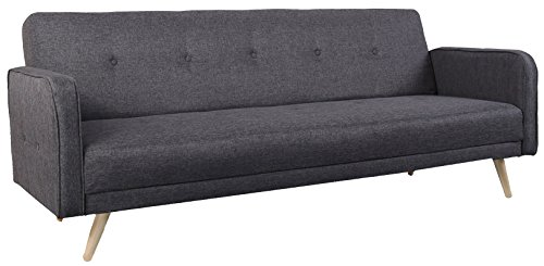 geschmackvolles schlafsofa ben auf stabilem holzrahmen mit hochwertigem webstoff elegante couch. Black Bedroom Furniture Sets. Home Design Ideas