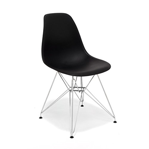 hochwertige tower replica eames stuhl polypropylen und stahl 0 0 m bel24. Black Bedroom Furniture Sets. Home Design Ideas