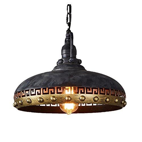 vintage industrielle pendelleuchte retro led h ngeleuchte eisen e27 leuchtmittel dekorative. Black Bedroom Furniture Sets. Home Design Ideas
