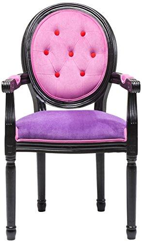 kare 78838 stuhl mit armlehnen louis boudoir m bel24. Black Bedroom Furniture Sets. Home Design Ideas