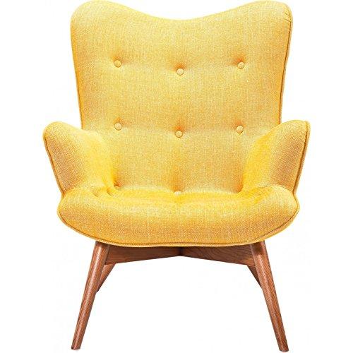 kare 78916 sessel angels wings rhythm mustard m bel24. Black Bedroom Furniture Sets. Home Design Ideas