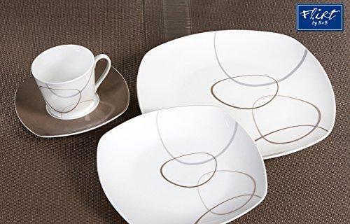 kombiset 24teilig alina marron m bel24. Black Bedroom Furniture Sets. Home Design Ideas
