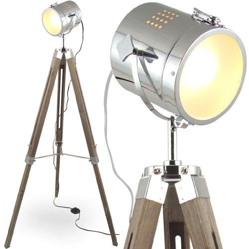mojo stehleuchte tischleuchte tripod stehlampe tischlampe dreifuss urban industrial design sel. Black Bedroom Furniture Sets. Home Design Ideas