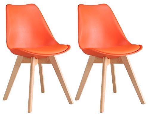 oye hoye retro designer stuhl esszimmerst hle wohnzimmerst hl mit bequem gepolsterter sitz aus. Black Bedroom Furniture Sets. Home Design Ideas