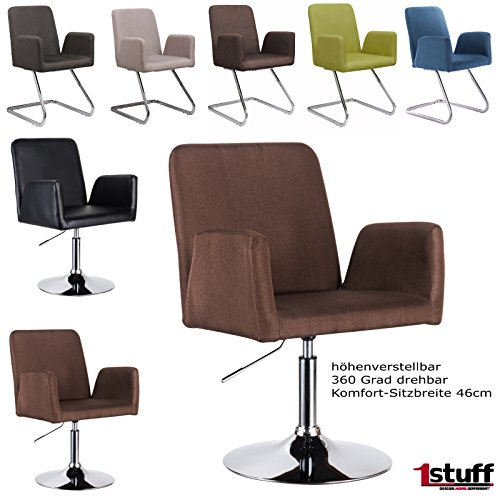 polsterstuhl retro studio retrostuhl retrosessel esszimmerstuhl konferenzstuhl besucherstuhl. Black Bedroom Furniture Sets. Home Design Ideas