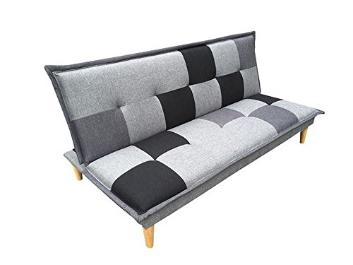 schlafsofa funktionssofa g stesofa schlafcouch sofa couch campeon grau schwarz m bel24. Black Bedroom Furniture Sets. Home Design Ideas