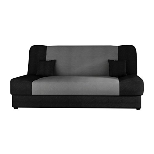 schlafsofa jonas sofa mit bettkasten und schlaffunktion bettsofa dauerschl fer sofa. Black Bedroom Furniture Sets. Home Design Ideas
