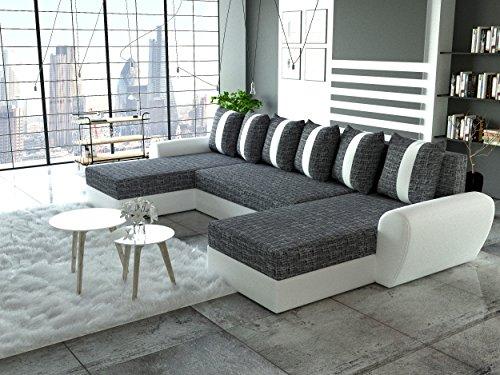 sofa couchgarnitur couch sofagarnitur puma u. Black Bedroom Furniture Sets. Home Design Ideas