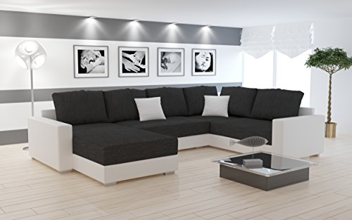 sofa couchgarnitur couch sofagarnitur sty 5 u polstergarnitur polsterecke wohnlandschaft mit. Black Bedroom Furniture Sets. Home Design Ideas