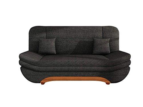 sofa weronika lux mit bettkasten und schlaffunktion schlafsofa gro e farb und materialauswahl. Black Bedroom Furniture Sets. Home Design Ideas