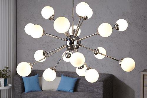 stylische design hngeleuchte galaxia weiss 100cm hngelampe. Black Bedroom Furniture Sets. Home Design Ideas