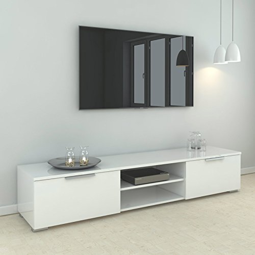 tv lowboard fernsehtisch fernsehschrank hifi rack tv board. Black Bedroom Furniture Sets. Home Design Ideas