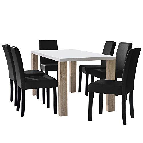 var esstisch 2p1401 stuhl 8195 set 11 m bel24. Black Bedroom Furniture Sets. Home Design Ideas