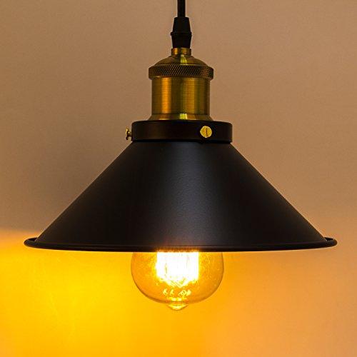 vintage lampenschirm dexors retro pendelleuchte deckenleuchte mit e27 sockel 85 265v fr caf. Black Bedroom Furniture Sets. Home Design Ideas