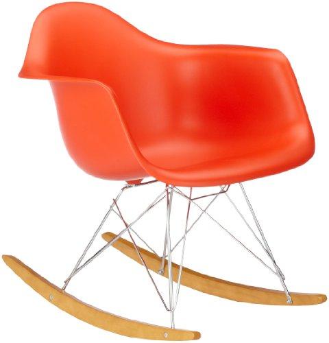 vitra 4401130003 stuhl rar eames plastic armchair gestell verchromt rot m bel24. Black Bedroom Furniture Sets. Home Design Ideas