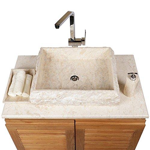 wohnfreuden marmor waschbecken kotak 50 cm gro recht. Black Bedroom Furniture Sets. Home Design Ideas