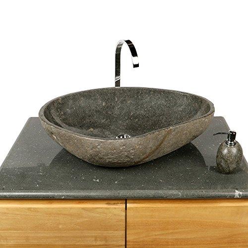 wohnfreuden naturstein waschbecken 70 cm gro waschtisch waschschale findling 0 m bel24. Black Bedroom Furniture Sets. Home Design Ideas