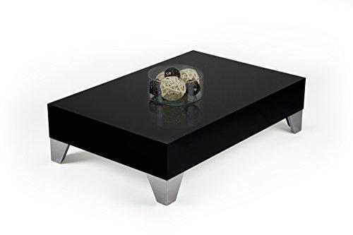 mobilifiver evolution 90 couchtisch holz schwarz hochglanz. Black Bedroom Furniture Sets. Home Design Ideas