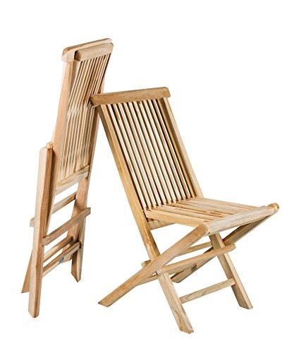 2 stck teak klappstuhl massives teakholz gartenstuhl klappbar 2er set faltbar 0 m bel24. Black Bedroom Furniture Sets. Home Design Ideas