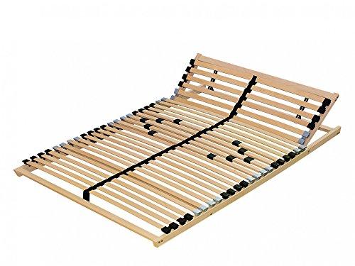 7 zonen lattenrost 140x200 cm mit individueller kopf und h rtegradverstellung m bel24. Black Bedroom Furniture Sets. Home Design Ideas