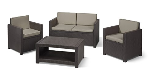 allibert lounge set monaco 4 teilig m bel24. Black Bedroom Furniture Sets. Home Design Ideas