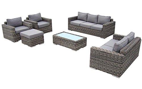 baidani garten lounge garnitur rundrattan escape select m bel24. Black Bedroom Furniture Sets. Home Design Ideas