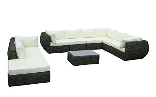 baidani garten lounge garnitur rundrattan majesty select 0. Black Bedroom Furniture Sets. Home Design Ideas