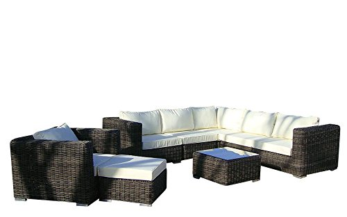 Baidani rattan garten lounge garnitur dreamline m bel24 for Lounge garnitur garten