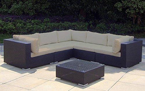 baidani rattan garten lounge garnitur sunshine schwarz m bel24. Black Bedroom Furniture Sets. Home Design Ideas