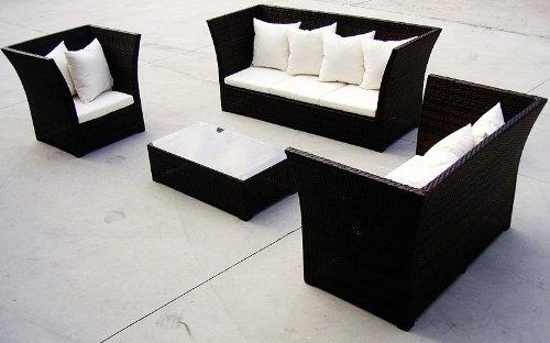 baidani rattan lounge garnitur 15 teilig lifestyle m bel24. Black Bedroom Furniture Sets. Home Design Ideas